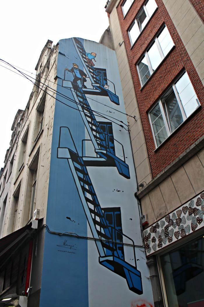 ruta-del-comic, bruselas