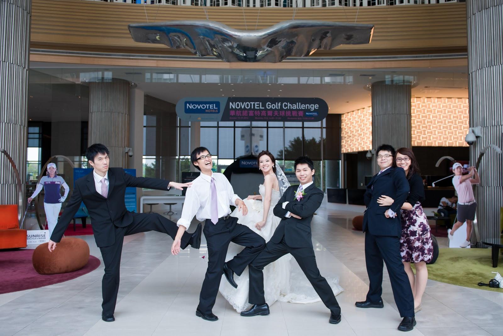 米米漿: 我的夢幻熊公主婚禮 - 佈置&場地 - 桃園華航諾富特機場飯店
