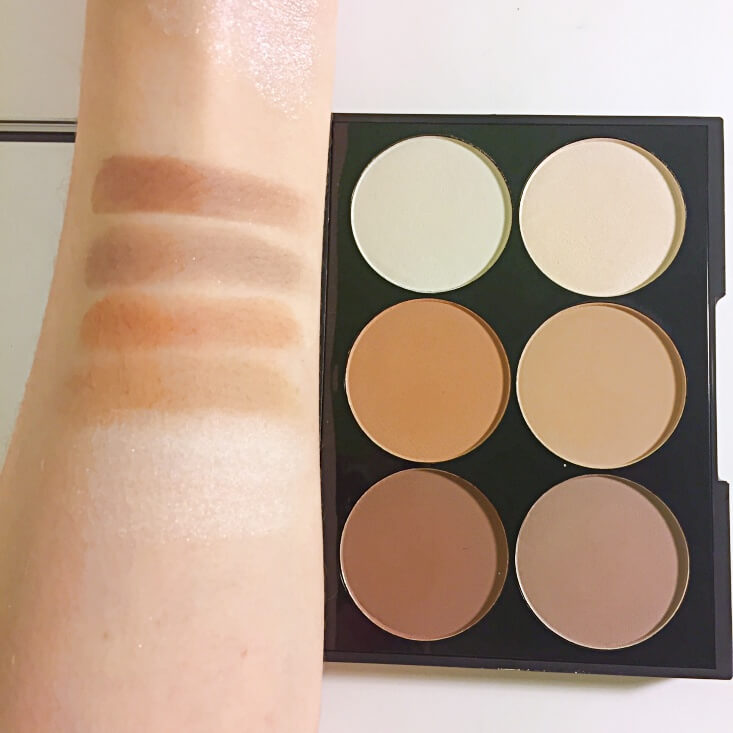 City Color Contour Palette On-the-Go swatches