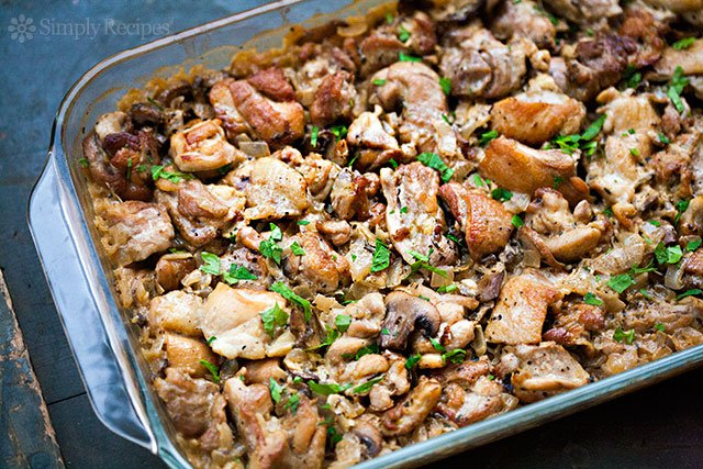 #Recipe : Chicken and Rice Casserole
