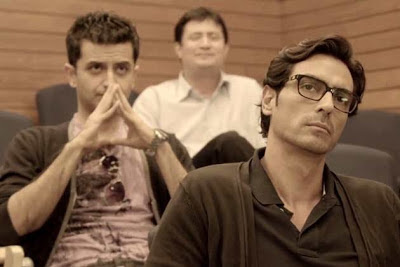 Arjun Rampaal as Rahul Verma, Inkaar, Directed by Sudhir Mishra