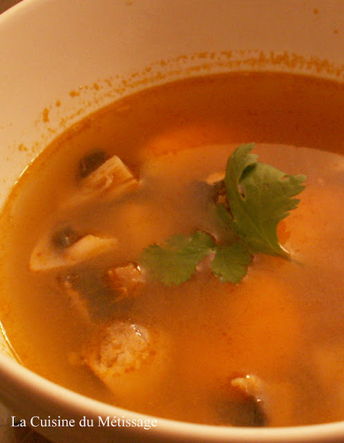 soupe Tom Yam Khung