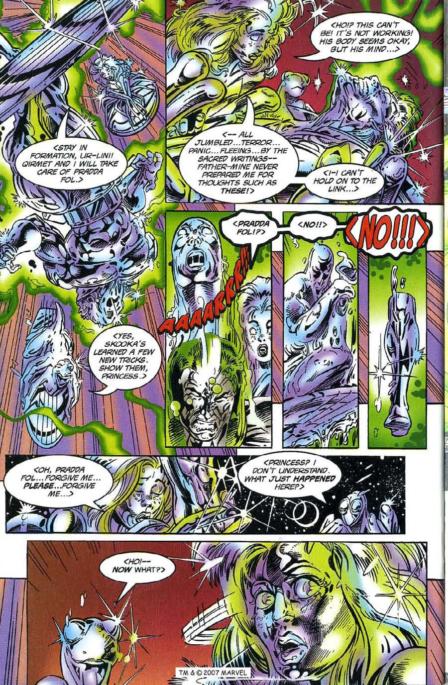 Read online Silver Surfer (1987) comic -  Issue #117 - 32