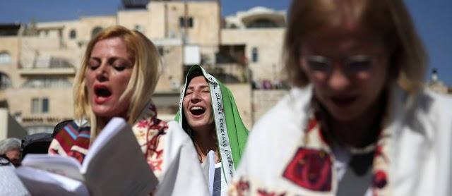 Proibida a  bênção sacerdotal de mulheres no Muro
