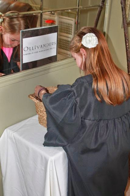 Graduation Gowns for Harry Potter Cloaks via www.happybirthdayauthor.com