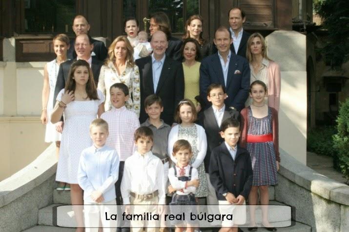 Familia real búlgara y el rey Simeón de Bulgaria
