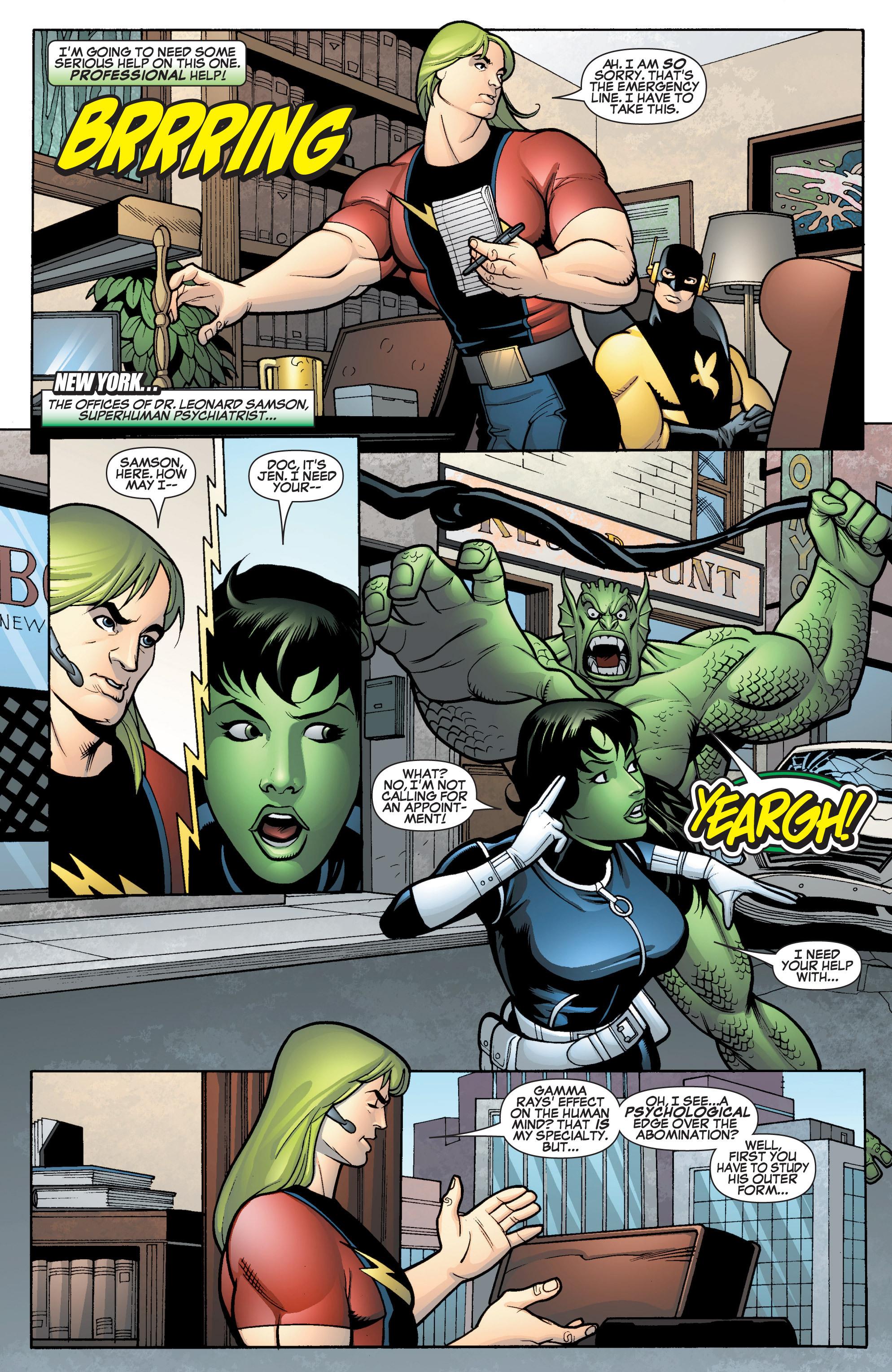 Read online She-Hulk (2005) comic -  Issue #15 - 19