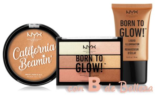 Iluminador Born to glow de NYX