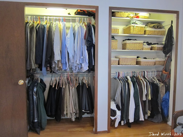 how to organize a closet, closet shelves, hooks