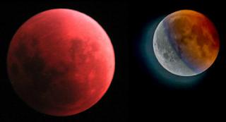 Bagaimana blue blood moon terjadi?