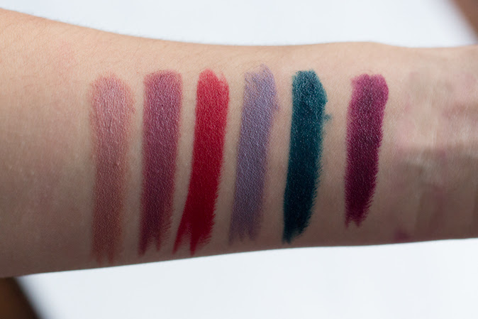 make up for ever artist rouge lipsticks review and swatches