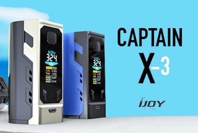 2018 Best High Power Kit - IJOY Captain X3 Kit Details