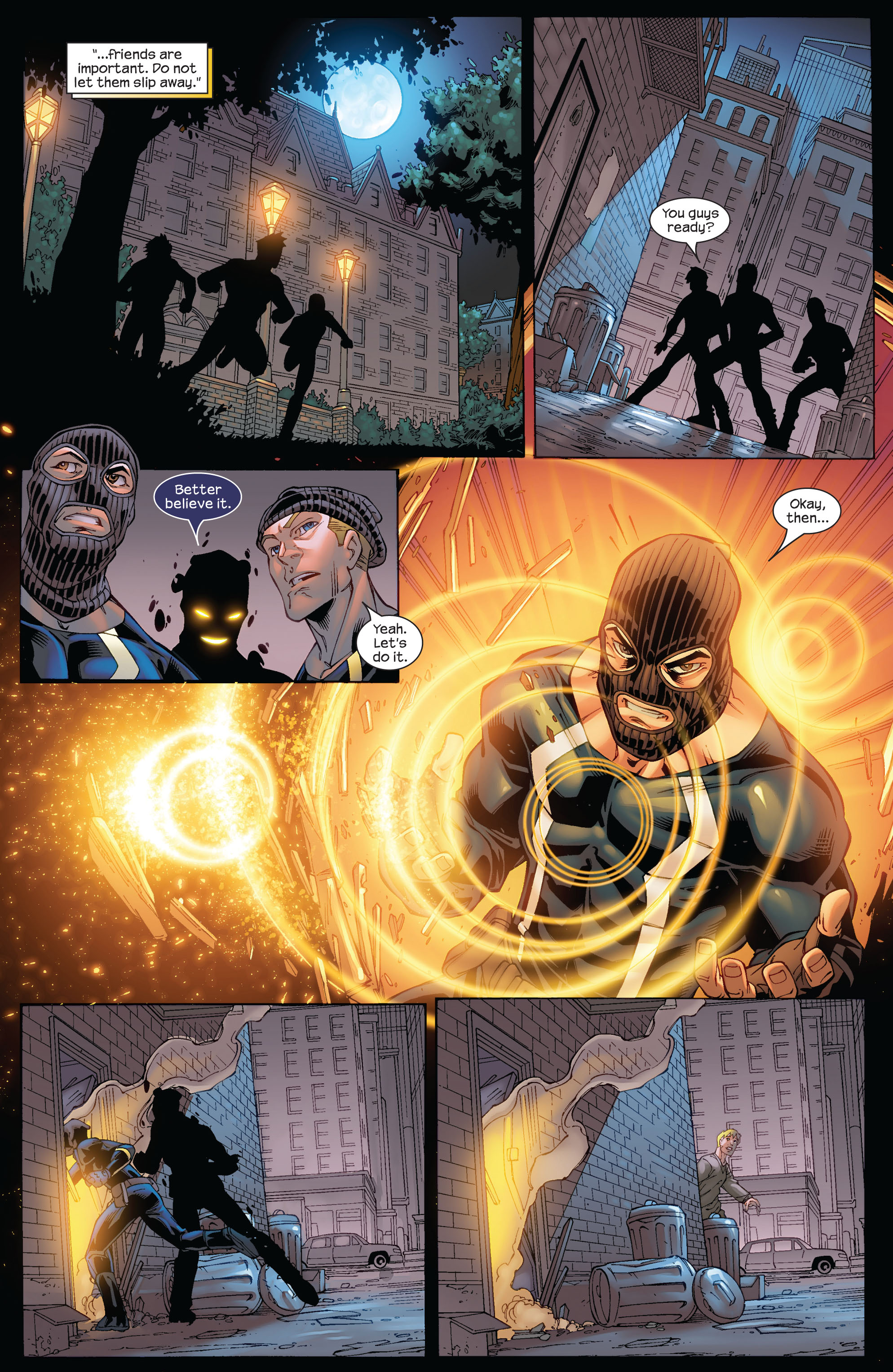 Read online Ultimate X-Men comic -  Issue #75 - 29