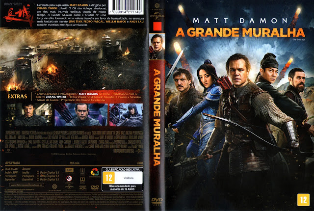 Capa DVD A Grande Muralha (Oficial)