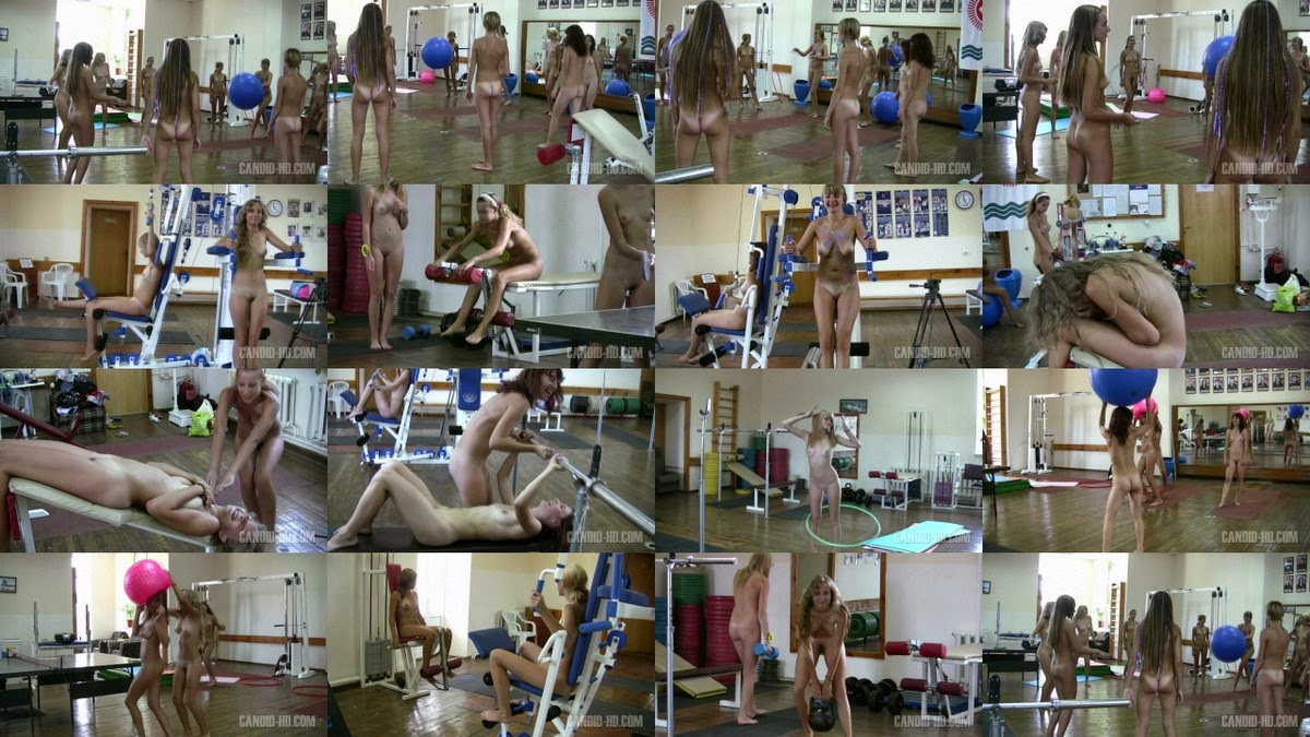 Teen Nudist Workout 1. Full version.
