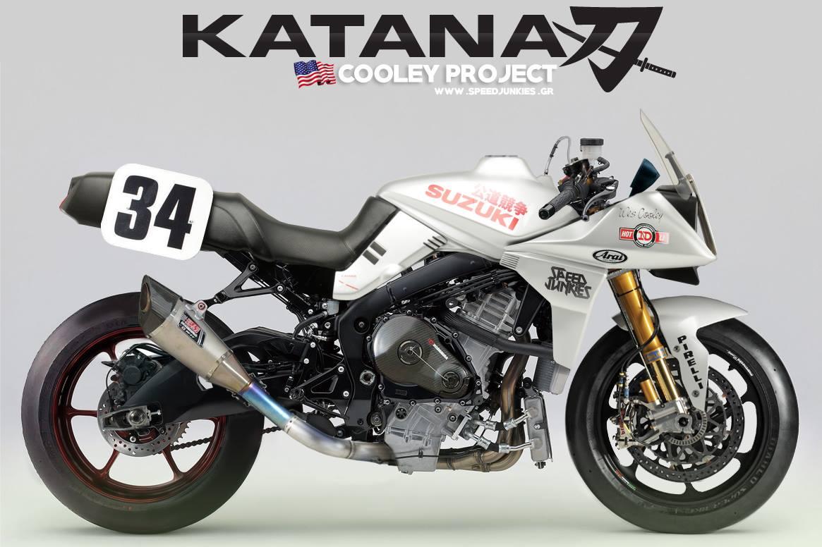 Katana gsxr rocketgarage cafe racer magazine for Aggiunta garage modulare