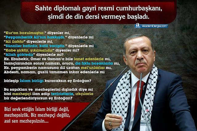 Recep Tayyip Erdoğan, Mezhepsizlik, sapık mezhepler, akp'nin gerçek yüzü, Mezhepler Tarihi, Mehmet Fahri Sertkaya,