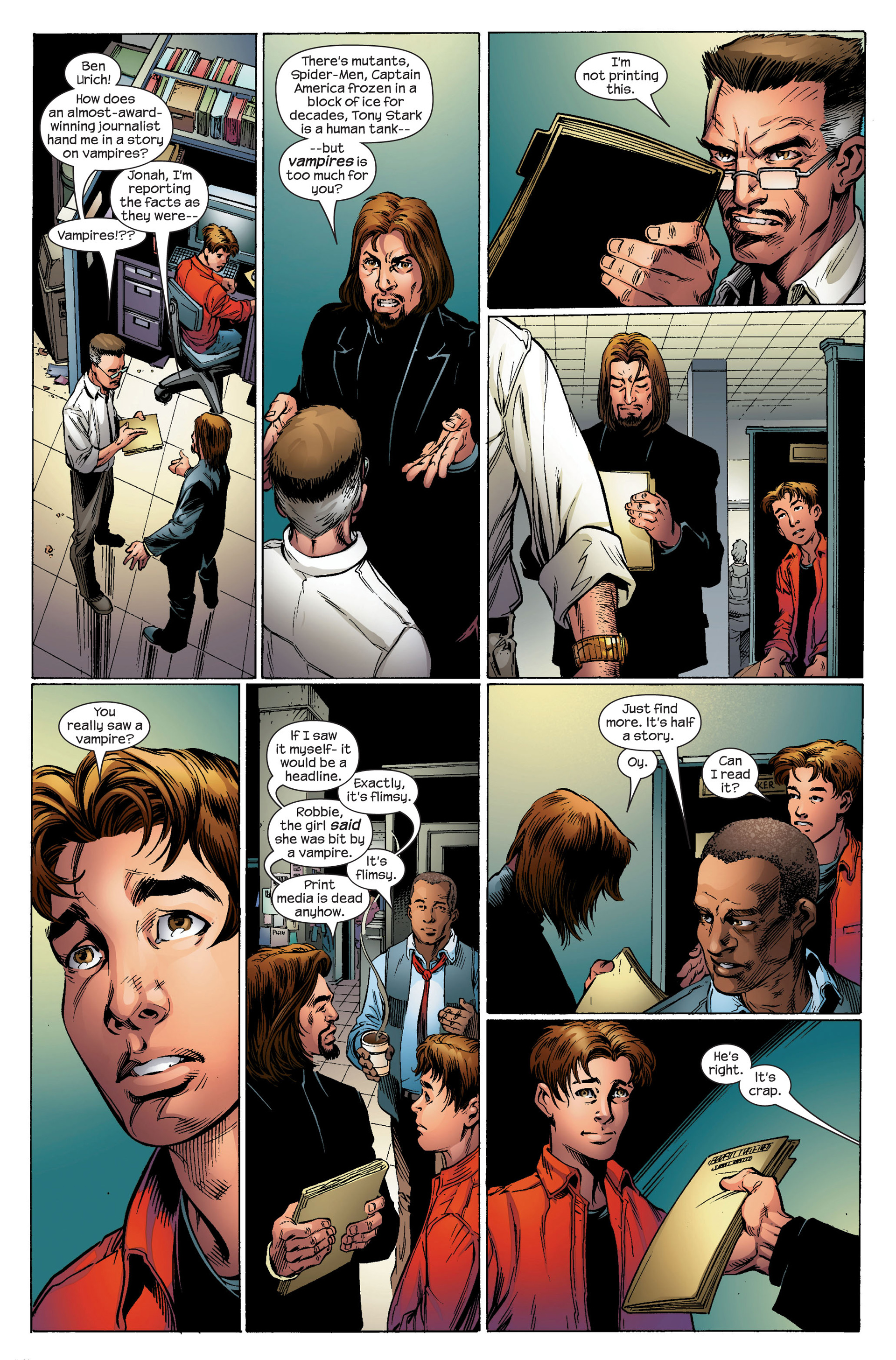 Read online Ultimate Spider-Man (2000) comic -  Issue #95 - 10
