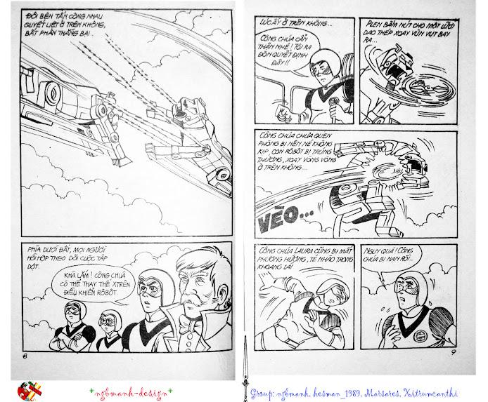 Dũng Sĩ Hesman tập 3 - mãng xà giả dạng trang 5