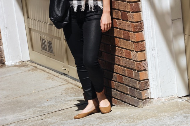 Current Habits, Oka b, flats, Madewell, denim, ballet, San Francisco blogger, fashion