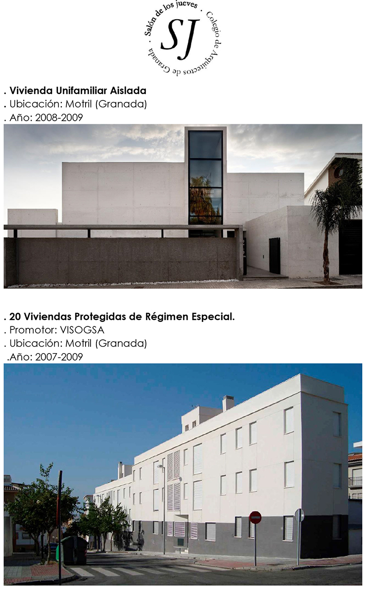 Gij n arquitectura blog sal n de los jueves ponencia - Arquitectos de granada ...