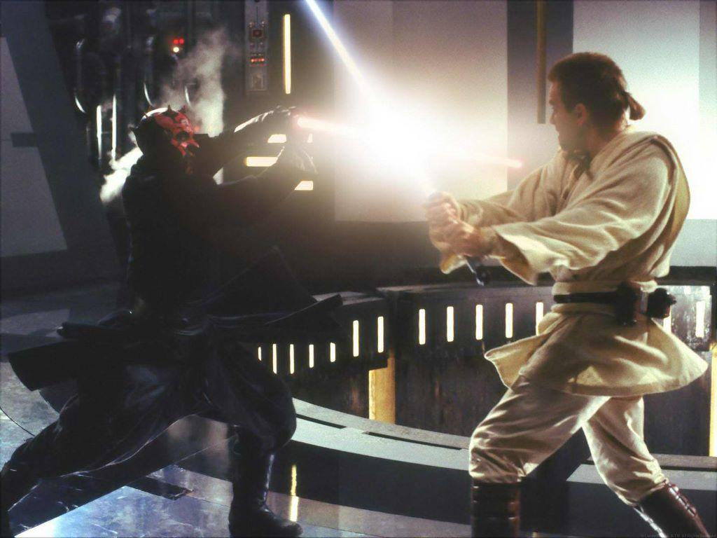 Star Wars Obi Wan vs Darth Maul Star Wars Obi Wan vs Darth