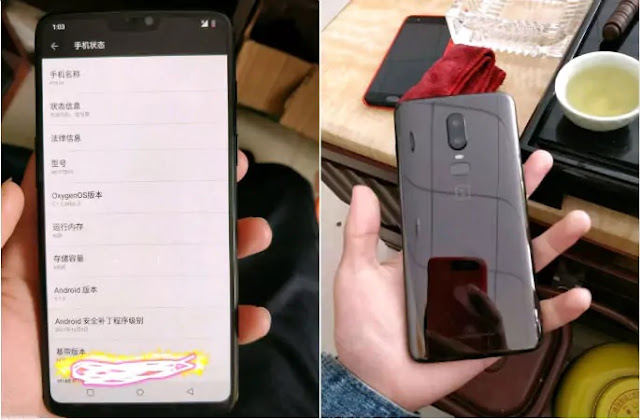 OnePlus 6 Tipped to Sport iPhone X-Like Notch on 19 9 Display Snapdragon 845 SoC
