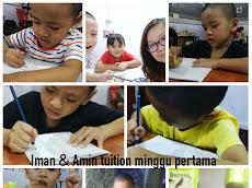 Iman & Amin : Tuition dan home school waktu cuti sekolah