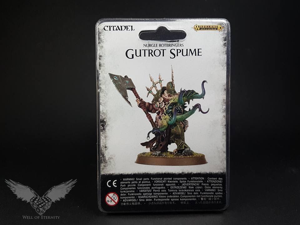Nurgle Rotbringers Gutrot Spume Games Workshop Warhammer Âge de Sigmar