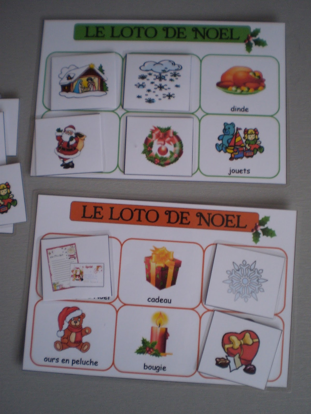 Bienvenue chez Nounou Babeth 59: Cartes de nomenclature, classification, jeu de loto.....