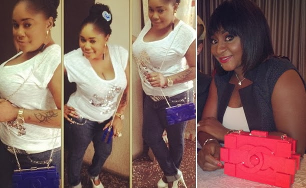 nigerian celebrities fake chanel lego bags