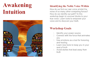 Workshop info on awakening intuition