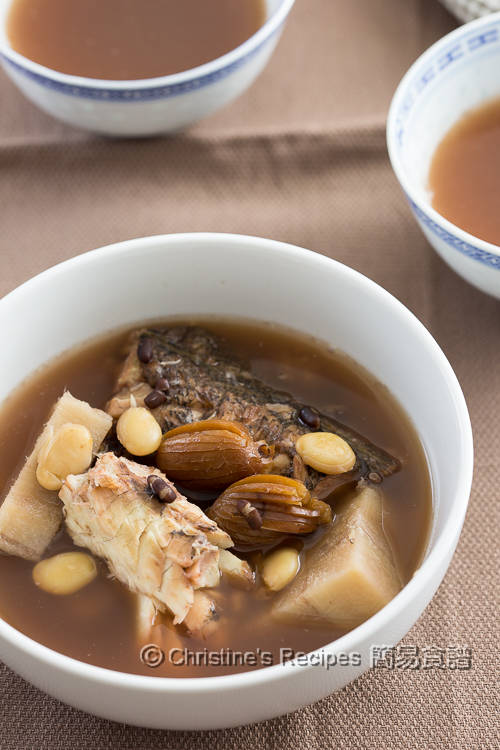 粉葛赤小豆牛鰍魚湯 Kudzu Root, Adzuki Bean and Flathead Fish Soup02