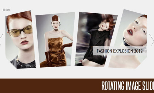 Rotating Slider With JQUERY & CSS3