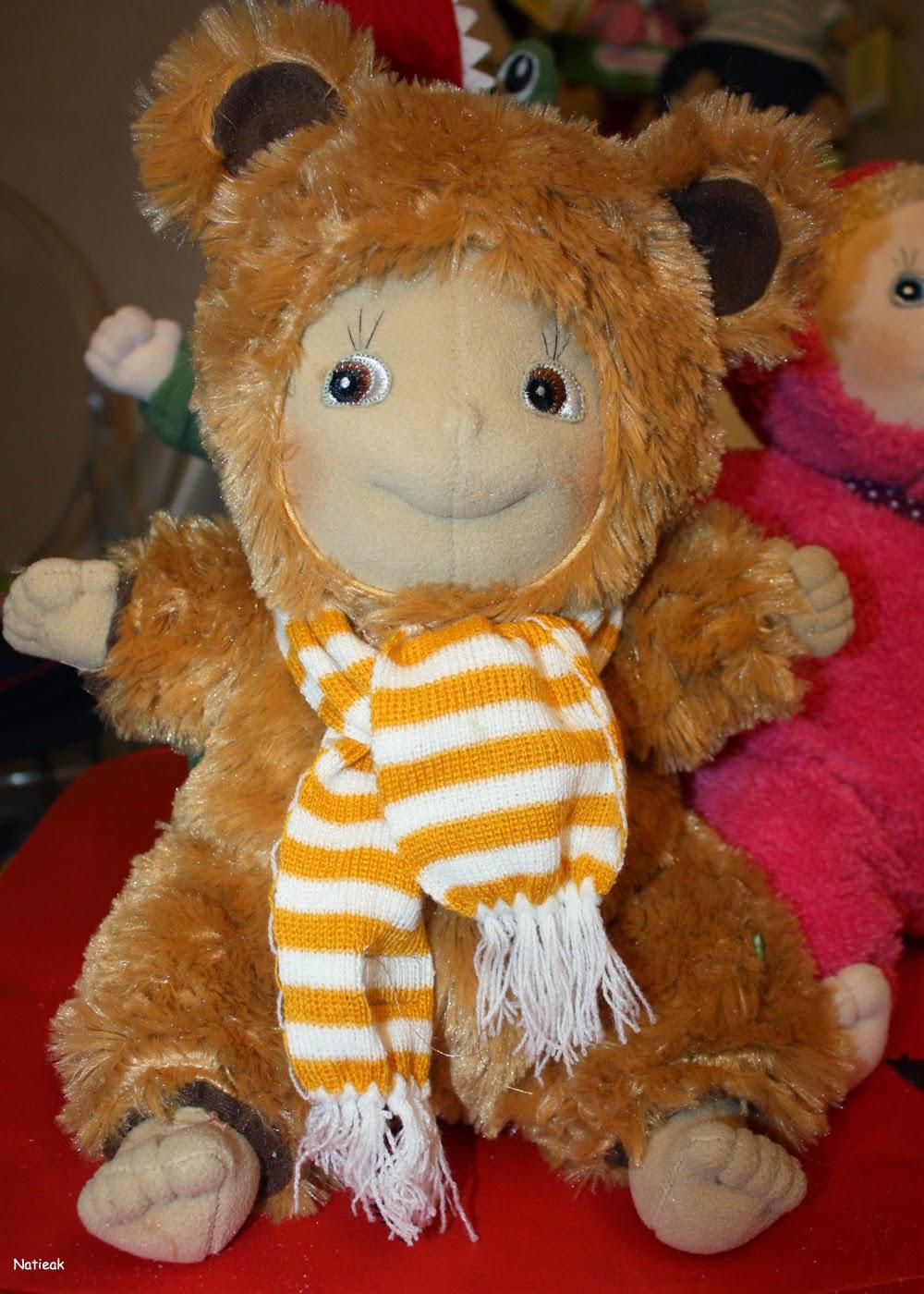 Teddy bear Rubens barn