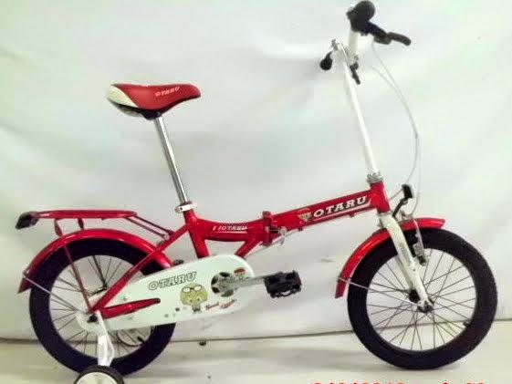 Sepeda Lipat Anak Genio Otaro 16 Inci