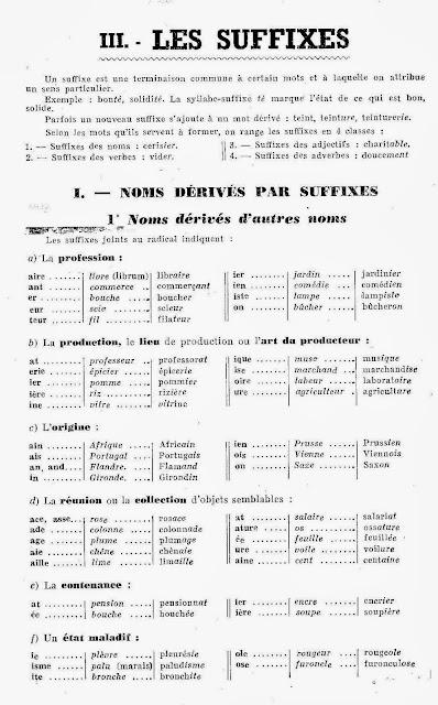 Przyrostki - gramatyka 4 - Francuski przy kawie