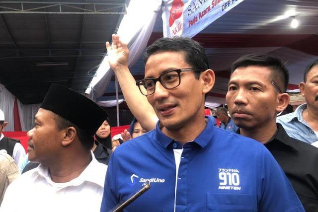 Sandiaga: Saya Tak Mau Berdebat dengan Pak Presiden soal Harga di Pasar
