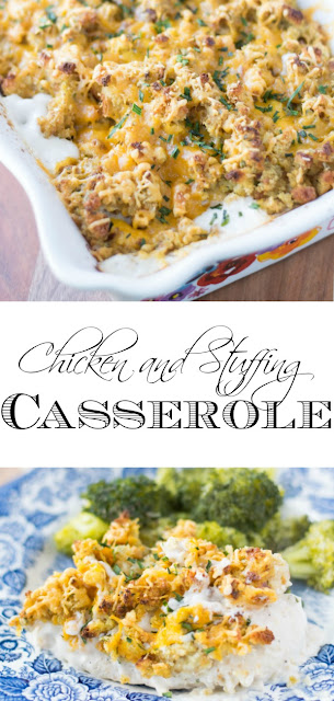 Chicken-and-Stuffing-Casserole-Recipe