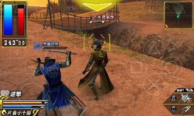 Download Sengoku Basara Chronicle Heroes ISO/CSO PSP PPSSPP Ukuran Kecil High Compress