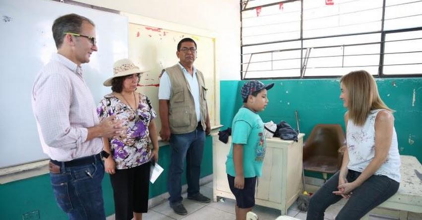 Identifican 186 colegios en Lima que necesitan todo tipo de acondicionamiento - MINEDU - www.minedu.gob.pe