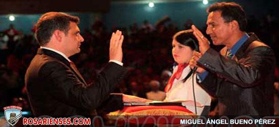 Juramentado Alexis Ramírez como nuevo gobernador de Mérida | Rosarienses, Villa del Rosario