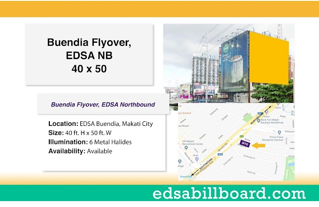 Available Billboard: Buendia Flyover, EDSA Northbound