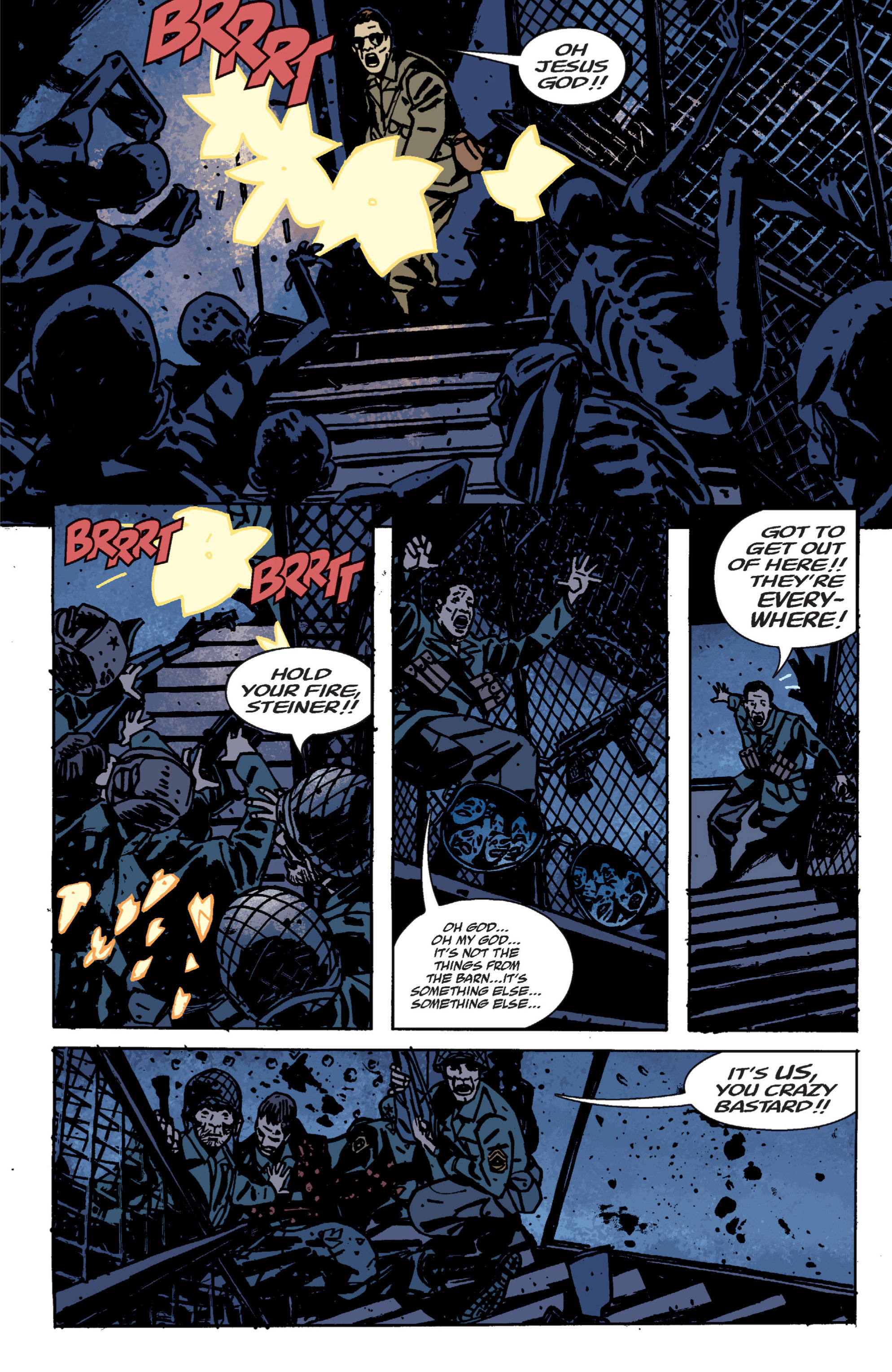 Read online B.P.R.D. (2003) comic -  Issue # TPB 9 - 66
