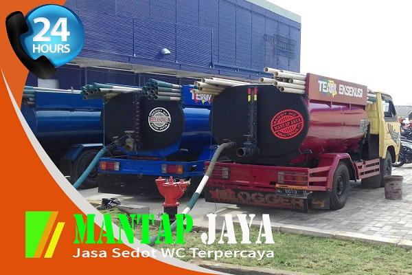 Jasa layanan Sedot Tinja Area Surabaya utara Kedung Cowek