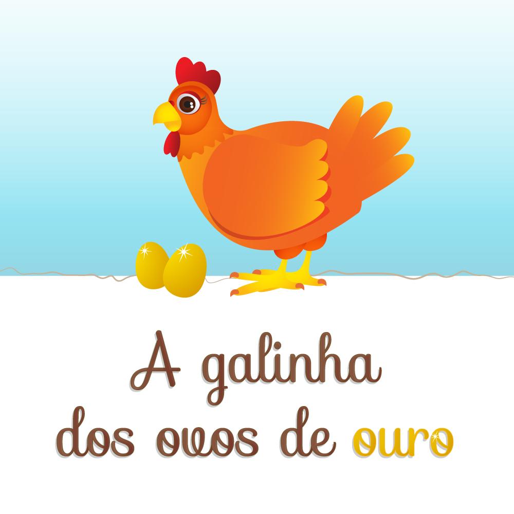 A Galinha Dos Ovo De Ouro Para Colorir interpretação de fábula - a galinha dos ovos de ouro - hora