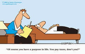 Paying taxes purpose funny Cartoon