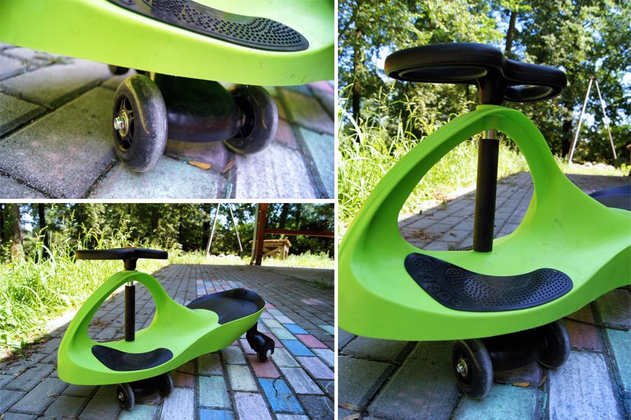 TwistCar - pojazd napędzany rękami!