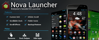 aplicacion de nova launcher.
