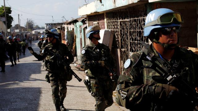 Diez mujeres haitianas demandan por paternidad a cascos azules de la ONU